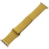Ремешок кожаный COTEetCI W7 Leather Magnet Band (WH5205-ML) для Apple Watch 40 мм Лимонный