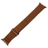 Ремешок кожаный COTEetCI W7 Leather Magnet Band (WH5205-SN) для Apple Watch 40 мм Светло-коричневый