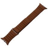 Ремешок кожаный COTEetCI W7 Leather Magnet Band (WH5206-SN) для Apple Watch 44 мм Светло-коричневый