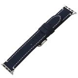 Ремешок кожаный COTEetCI W35 Homag Leather Band (WH5259-BL) для Apple Watch 44 мм Синий