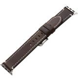 Ремешок кожаный COTEetCI W35 Homag Leather Band (WH5259-BR) для Apple Watch 44 мм Коричневый