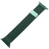 Ремешок из нержавеющей стали MAGNET Band для Apple Watch 44 мм Темно-зеленый