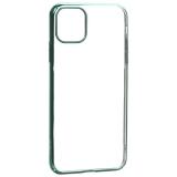 Чехол-накладка пластиковый X-Level для iPhone 11 Pro Max (6.5) Зеленый глянцевый борт