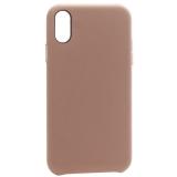 Чехол-накладка кожаная K-Doo Noble Collection (PC+PU) для Iphone XR (6.1) Розовый песок