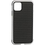 Чехол-накладка противоударная K-Doo Hera (Metal+TPU+PC) для iPhone 11 Pro Max (6.5) Серебристо-черный