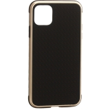 Чехол-накладка противоударная K-Doo Hera (Metal+TPU+PC) для Iphone 11 Pro Max (6.5) Золотисто-черный