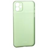 Чехол-накладка пластиковая K-Doo Air Skin 0.3 мм для iPhone 11 (6.1) Зеленая