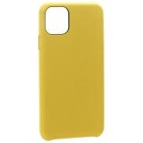 Чехол-накладка кожаная K-Doo Noble Collection (PC+PU) для iPhone 11 Pro Max (6.5) Желтая
