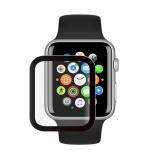 Стекло защитное Protection PMMA Deppa D-62617 для Apple Watch 5/4 series (44мм) черная рамка