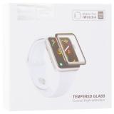 Стекло защитное Hoco Curved High-definition silk screen для Apple Watch Series 5/ 4 (44мм) черная рамка