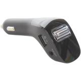 Автомобильное зарядное устройство Baseus Streamer F40 AUX с FM-трансмитером wireless MP3 car charger (CCF40-01) Черный
