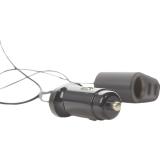 Автомобильное зарядное устройство Hoco Z35A Companheiro front and rear seat Cigarette Lighter 100W Car Charger (3USB: 5V  &  2.4A) Черный