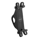 """Веломотодержатель Deppa Crab Bike M D-55164 (для смартфонов и GPS 4""""-6.5"""") крепление на руль силикон Черный"""