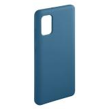 Чехол-накладка силикон Deppa Liquid Silicone Case D-87593 для Samsung A41 1.7 мм Синий