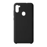 Чехол-накладка силикон Deppa Liquid Silicone Case D-87575 для Samsung A11/ M11 1.7 мм Черный