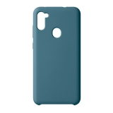 Чехол-накладка силикон Deppa Liquid Silicone Case D-87576 для Samsung A11/ M11 1.7 мм Синий
