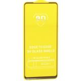 Стекло защитное 2D для Samsung Galaxy A21s (6.5) Black