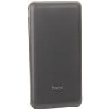 Аккумулятор внешний универсальный Hoco J26 10000 mAh Simple Energy Mobile Power bank (2USB: 5V-2.1A) Черный