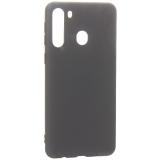 Защитный чехол BoraSCO B-38529 Mate для Samsung Galaxy A21, черный матовый