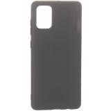 Защитный чехол BoraSCO B-38530 Mate для Samsung Galaxy A71, черный матовый