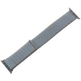 Ремешок COTEetCI W17 Magic Tape Band (WH5225-HB-40) для Apple Watch 38 мм Светло-серый