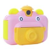 Детский фотоаппарат мгновенной печати фотографий Leilam Розовый