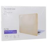 Защитный чехол-накладка HardShell Case для Apple MacBook New Pro 13 Touch Bar (2020г.) A1706/A1708/A1989 матовая прозрачная