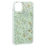 Чехол-накладка WK Design Amber Series пластик со стразами для iPhone 11 (6.1) силиконовый борт Мятный