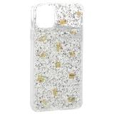 Чехол-накладка WK Design Amber Series пластик со стразами для iPhone 11 Pro Max (6.5) силиконовый борт Прозрачная