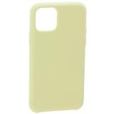 Накладка силиконовая MItrifON для iPhone 11 Pro Max (6.5) без логотипа Lemon cream Лимонный крем №51