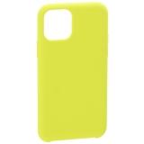 Накладка силиконовая MItrifON для iPhone 11 Pro Max (6.5) без логотипа Limon Лимонный №32