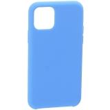 Накладка силиконовая MItrifON для iPhone 11 Pro Max (6.5) без логотипа Sapphire Синий №3