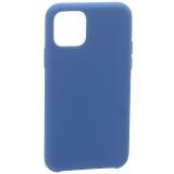 Накладка силиконовая MItrifON для iPhone 11 Pro Max (6.5) без логотипа Deep blue Темно-синий №20