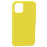 Накладка силиконовая MItrifON для iPhone 11 Pro Max (6.5) без логотипа Yellow Желтый №55