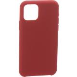 Накладка силиконовая MItrifON для iPhone 11 Pro Max (6.5) без логотипа Maroon Бордовый №52