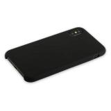 Накладка силиконовая MItrifON для iPhone XS Max (6.5) без логотипа Black Черный №18
