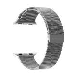 Ремешок из нержавеющей стали Deppa Band Mesh D-47140 для Apple Watch 38 мм Серебристый