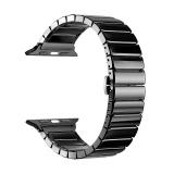 Ремешок керамический Deppa Band Сeramic D-47119 для Apple Watch 38 мм Черный