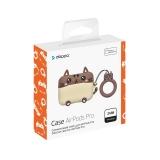 Чехол силиконовый Deppa Funny Animals для AirPods Pro D-47303 2.0 мм кот Коричневый-кремовый
