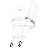 Адаптер питания Hoco N3 Special single port QC3.0 charger Apple & Android (USB: 3.6-6.5V 3.0A/6.6-9V 2.0A/18W) Белый