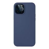 Чехол-накладка силикон Deppa Liquid Silicone Case D-87717 для iPhone 12 Pro Max (6.7) 1.7 мм Синий
