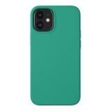 Чехол-накладка силикон Deppa Liquid Silicone Case D-87718 для iPhone 12 mini (5.4) 1.7мм Зеленый
