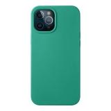 Чехол-накладка силикон Deppa Liquid Silicone Case D-87721 для iPhone 12 Pro Max (6.7) 1.7мм Зеленый