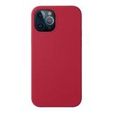 Чехол-накладка силикон Deppa Liquid Silicone Case D-87780 для iPhone 12/ 12 Pro (6.1) 1.7мм Красный