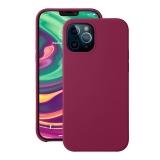 Чехол-накладка силикон Deppa Liquid Silicone Case D-87783 для iPhone 12 / 12 Pro (6.1) 1.7мм Бургунди