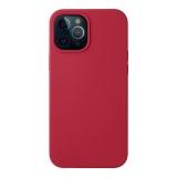 Чехол-накладка силикон Deppa Liquid Silicone Case D-87784 для iPhone 12 Pro Max (6.7) 1.7мм Красный