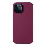 Чехол-накладка силикон Deppa Liquid Silicone Case D-87785 для iPhone 12 Pro Max (6.7) 1.7 мм Бургунди