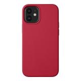 Чехол-накладка силикон Deppa Liquid Silicone Case D-87786 для iPhone 12 mini (5.4) 1.7мм Красный