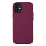 Чехол-накладка силикон Deppa Liquid Silicone Case D-87787 для iPhone 12 mini (5.4) 1.7мм Бургунди