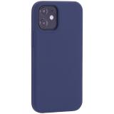Чехол-накладка силиконовый TOTU Outstanding Series Silicone Case для iPhone 12 mini 2020 г. (5.4) Темно-синий